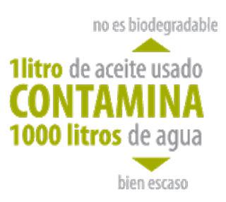 Chile desarrollo sustentable aceite contaminacion 4 101 for Reciclar aceite de cocina